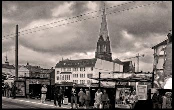 Photo: Marienplatz Schwerin mit Dom