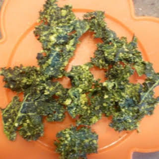 Alma's Cashew Kale Chips.