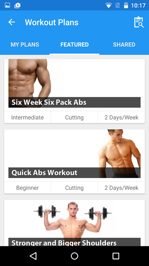 JEFIT Workout Tracker Gym Log- screenshot