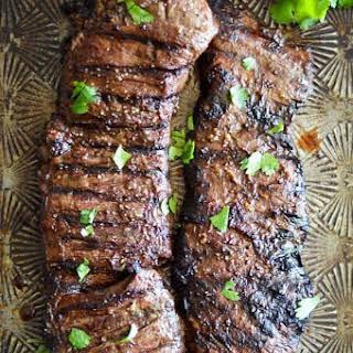 Grilled Skirt Steak.