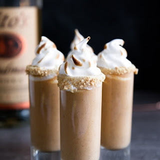 Boozy Pumpkin Pie Shooters