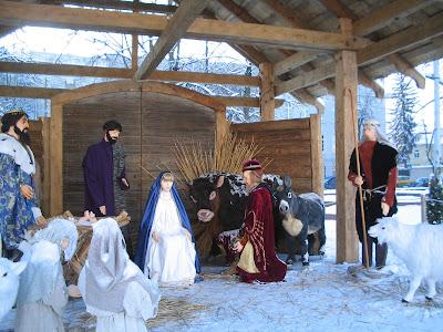 Nativity scene in Vilnius