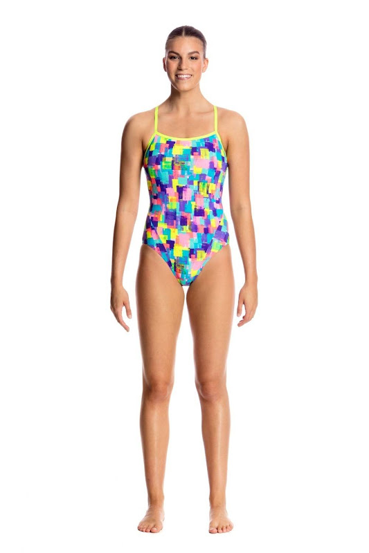Funkita Ladies Single Strap One Piece Madam Monet - FS15L01770