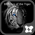 theme -Blue Eye of the Tiger- icon