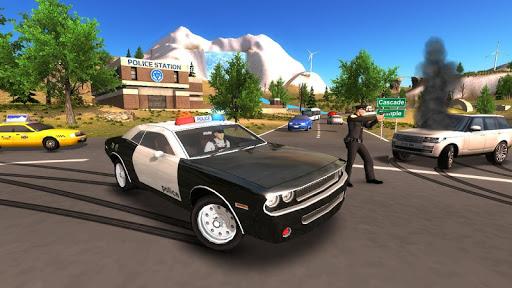 Police Car Driving Offroad 2 screenshots 9