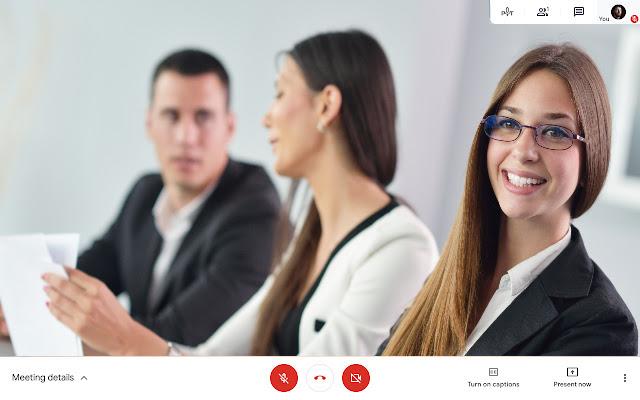 Visual Effects Google Meet