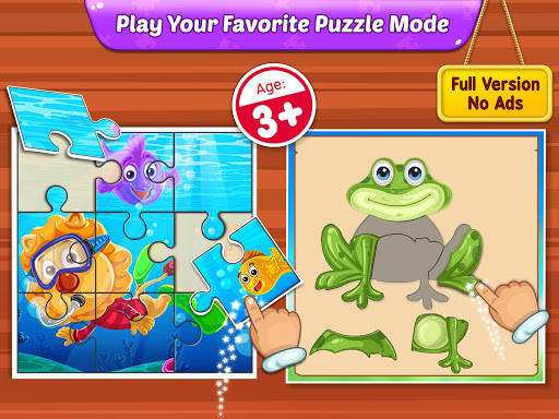 Puzzle Kids - Animals Shapes and Jigsaw Puzzles 1.0.6 screenshots 9