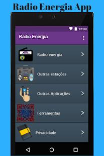 Radio Energia App - náhled