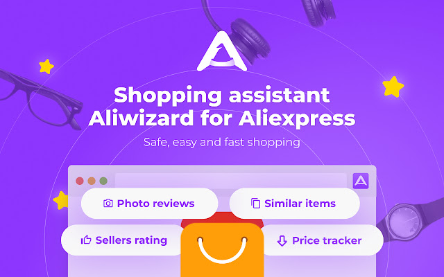 AliWizard shopping assistant for Aliexpress