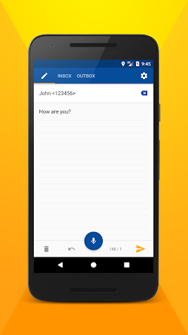 Write SMS by voice PRO Screenshot