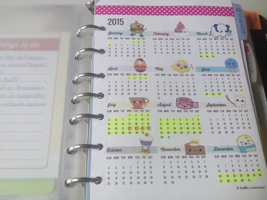Mi actual agenda personal - Marcas de agendas ...