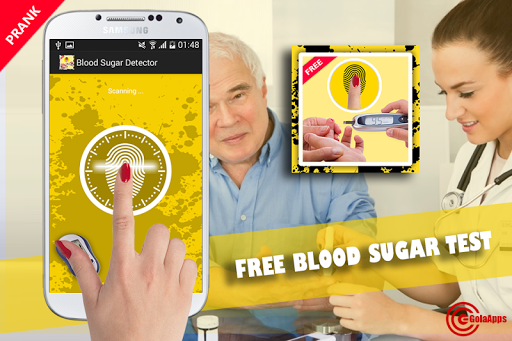 Free Blood Sugar Test Prank