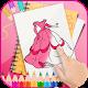 Princess Dress coloring book Download on Windows