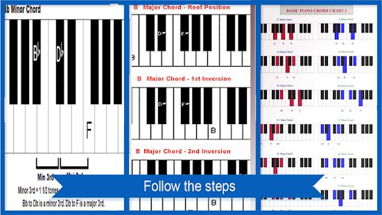 Akord na klavír - náhled