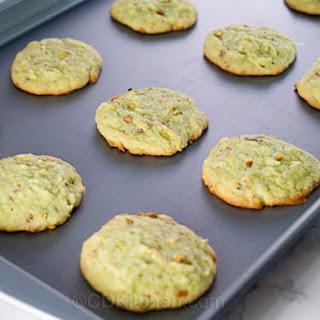 Pistachio-Coconut Cookies