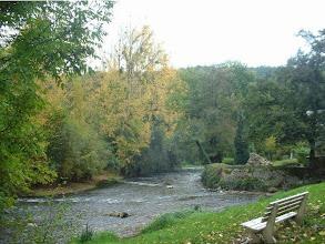 Photo: Au pied du Guéplard la rivière