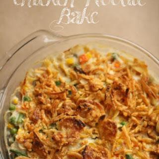 Chicken Noodle Bake