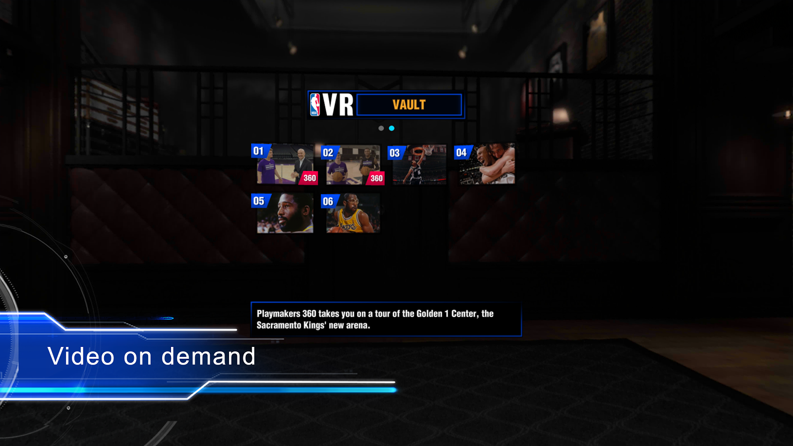 NBA VR- screenshot