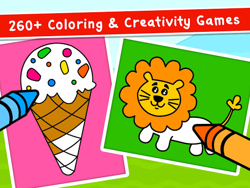 Coloring Games for Kids - Drawing & Color Book  screenshots 10