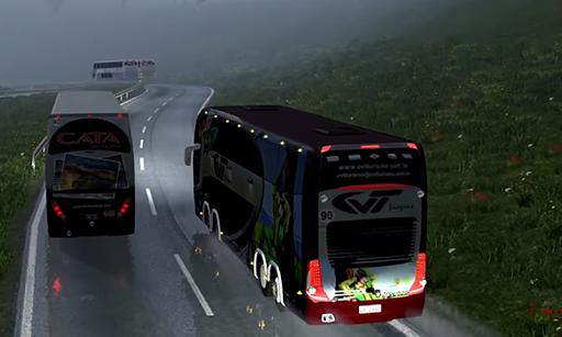 Heavy Euro Bus Simulator 2 2.1.0 screenshots 4