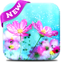 Cute Flowers Live Wallpaper icon