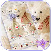 Forget-me-not Teddy Bear Theme