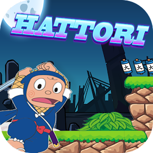 Ninja Hattori adventure for PC and MAC