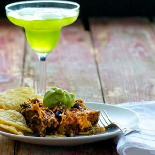 Easy Vegan Taco Casserole.