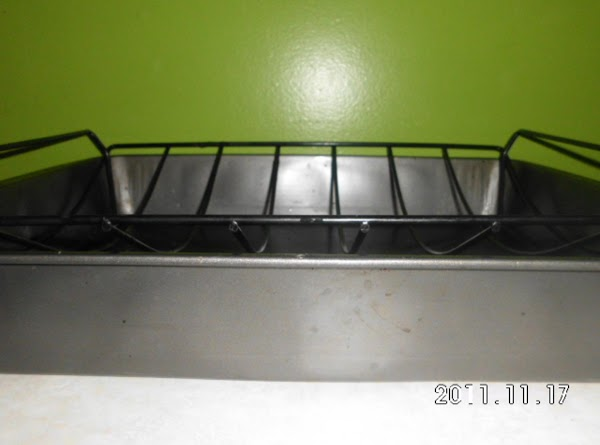 Place on lowest rack in oven if using roasting pan with rack inside. If...