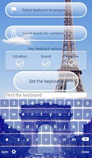 Paris Keyboard Customizer screenshot