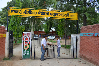 Photo: Govt. Sr. Sec. School, Manauli, Mohali