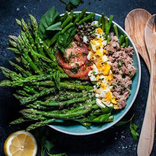 Spring Asparagus and Green Bean Salad