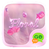 (FREE) GO SMS FLORAL THEME
