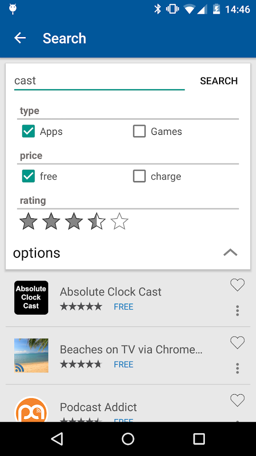 Cast Store for Chromecast Apps- screenshot