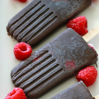 Fruit Fudge Popsicles