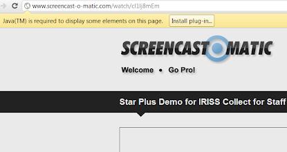 Photo: screencast-o-matic java plugin missing