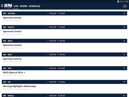 Sportsnet screenshots 10