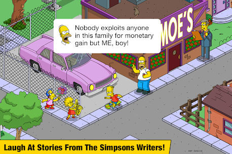 The Simpsons Tapped Out 4.29.1 MOD (Free Shopping) Apk 5