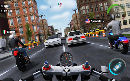 Moto Traffic Race 2: Multiplayer  screenshots 4