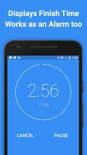 ListTimer Free Timer & Alarm Screenshot