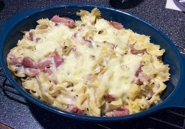 "Ham And Swiss ""on Rye"" Casserole Recipe"