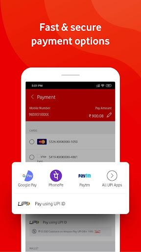 MyVodafone India u2013 Mobile Recharge & Bill Payments  screenshots 4