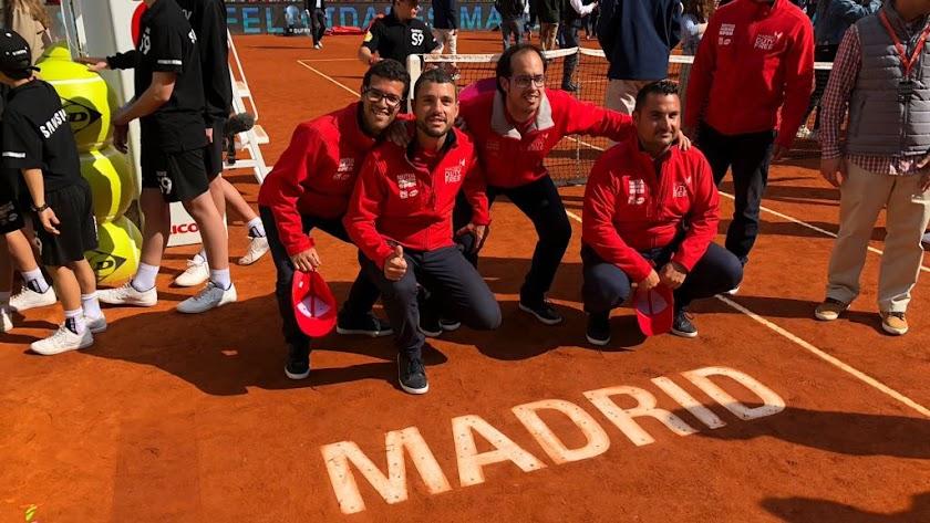Un ojo de halcón albojense en la final del Masters 1000 de Madrid