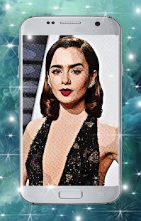 Lily Collins Wallpaper - náhled