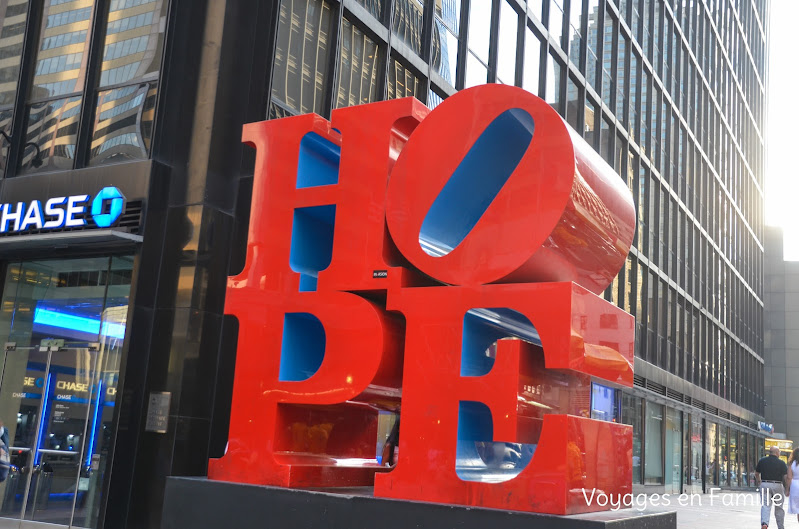 Hope sculpture NY
