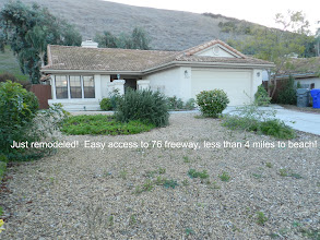 Photo: Remodeled single level home in quiet neighborhood. Easy access to 76 freeway and less than 4 miles to beach!