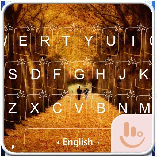 Autumn Love Keyboard Theme
