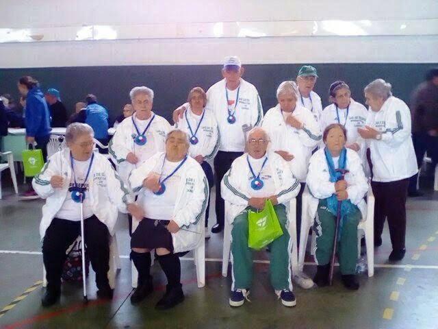 Campeonato de Boccia anima idosos do Lar de Arneirós