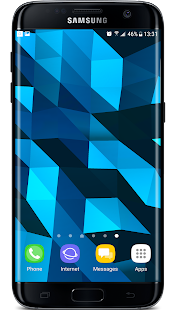 Download Crystal Edge 3D Parallax Live Wallpaper For PC Windows and Mac apk screenshot 2