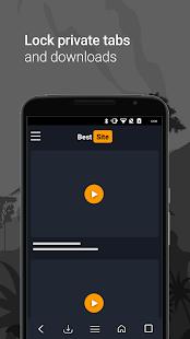 Downloader & Private Browser Screenshot